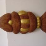 'Bakvis', iepenhout + kopernagels
