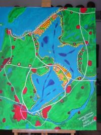Schilderij ijsselmeer